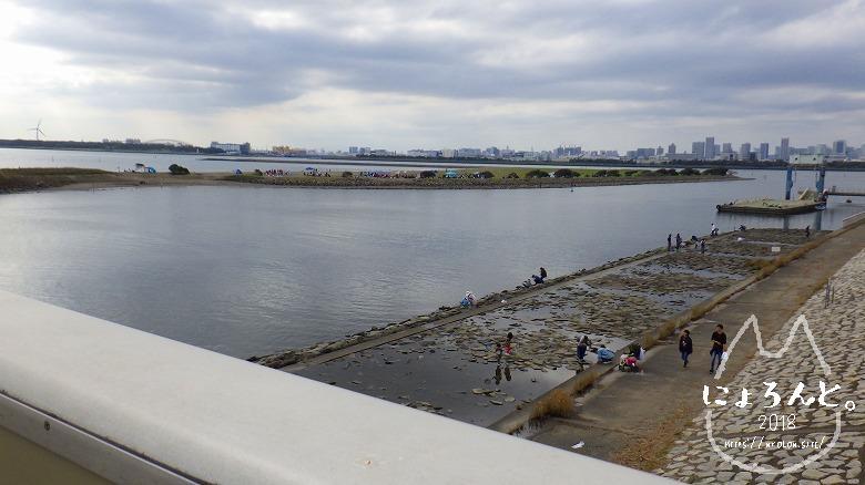 葛西臨海公園・渚橋から
