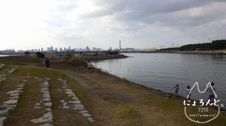 葛西臨海公園・西なぎさ・橋側