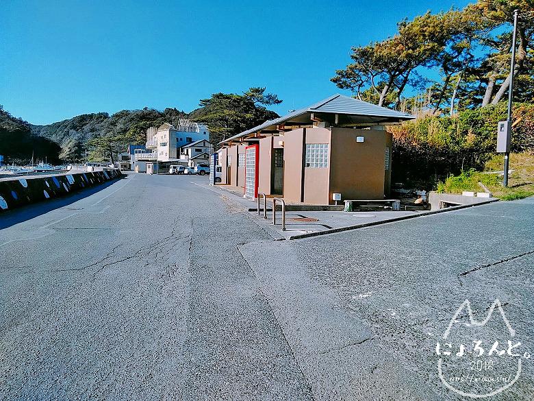 大浜海岸・トイレ