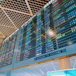 成田空港・ボード
