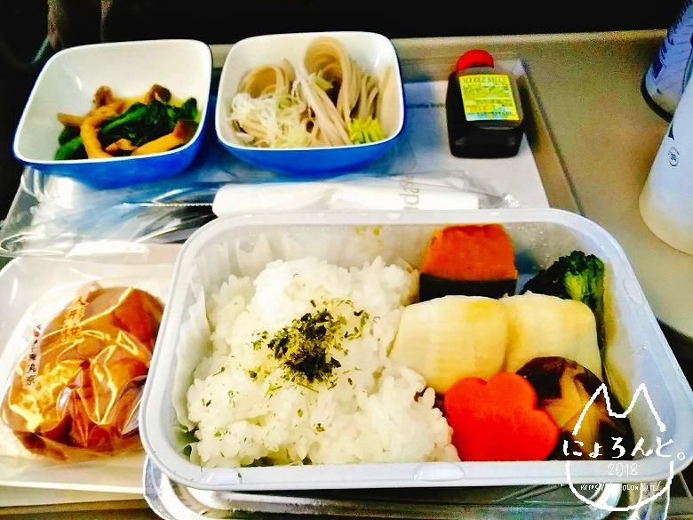 ガルーダ・インドネシア航空・和食
