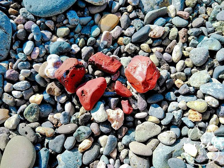 大浜海岸・レッドジャスパー