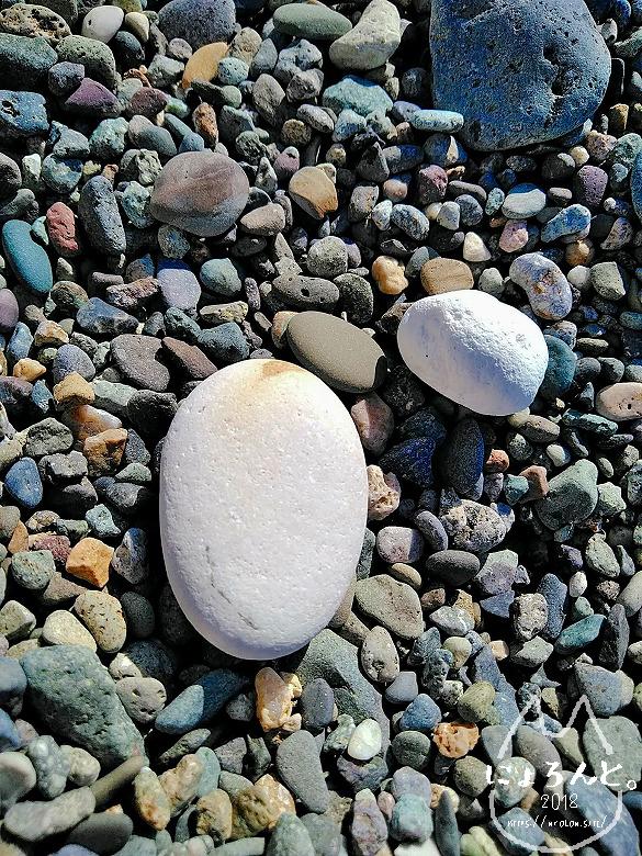 大浜海岸・丸い石