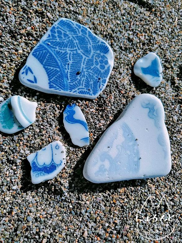 大浜海岸・陶片
