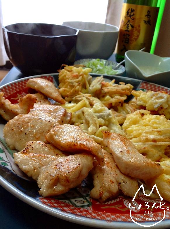 簡単美味しい鶏天