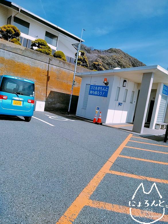 立石海岸・駐車場