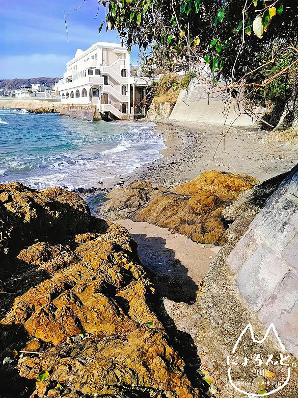 立石海岸・小さい浜