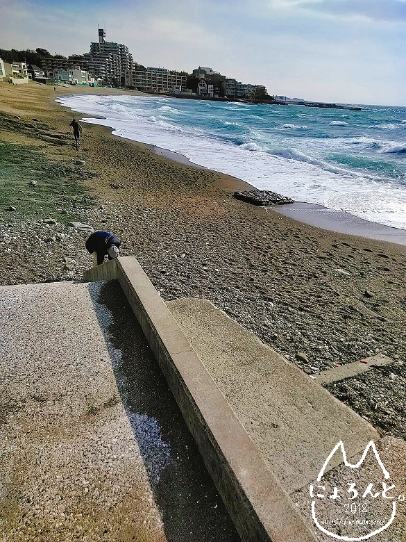 立石海岸・階段