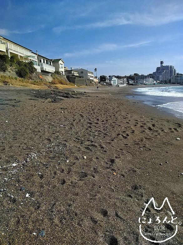 立石海岸・左側