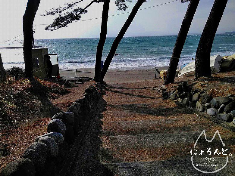 一式海岸・入口