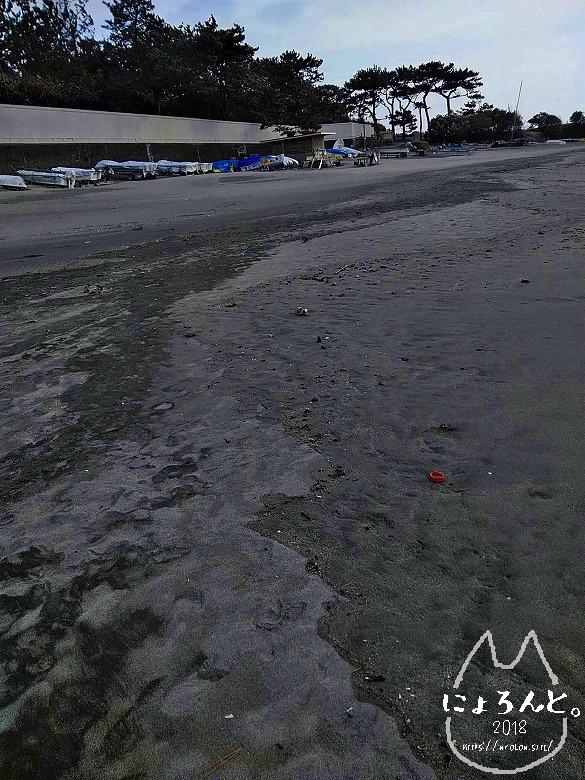 一式海岸・浜辺