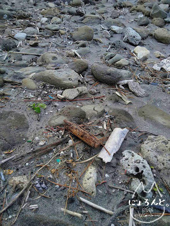 一式海岸・石だまり
