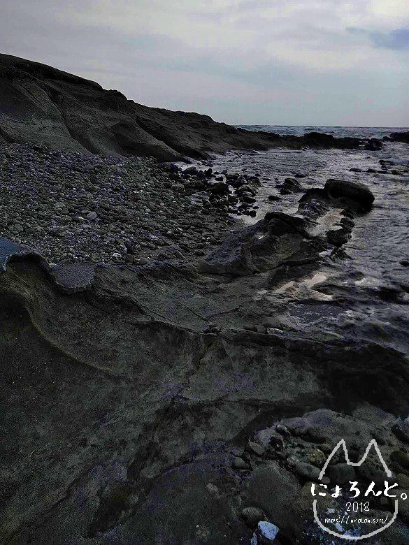 一式海岸・ムーディな景色