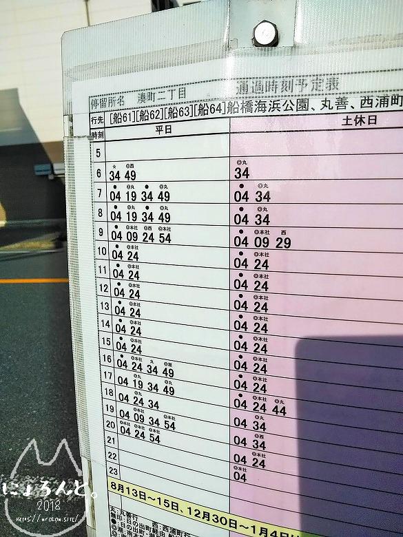 日本クラムチャウダー選手権・最寄りバス時刻表