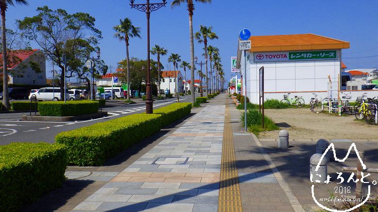 「沖ノ島」までの道