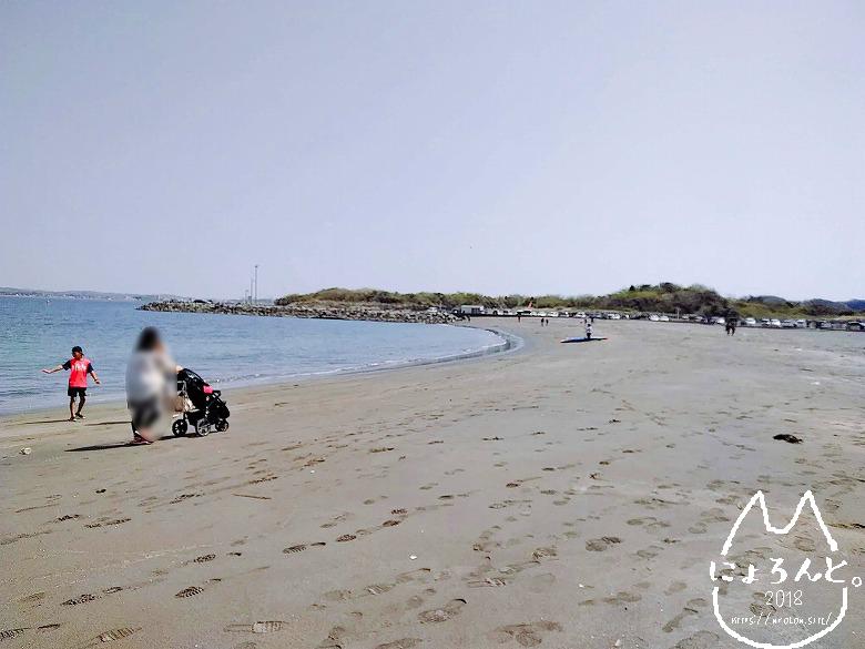 「沖ノ島」の浜