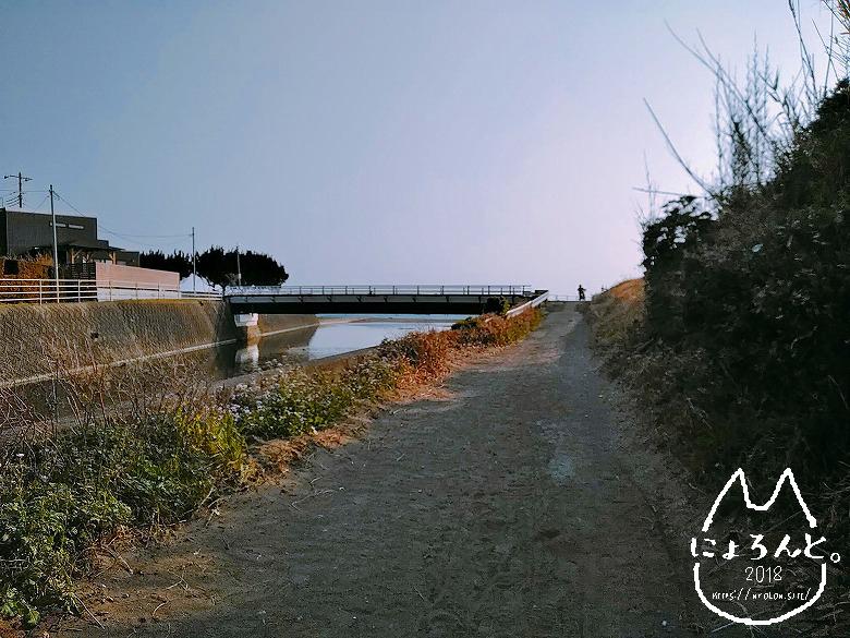 「保田海岸」に至る道