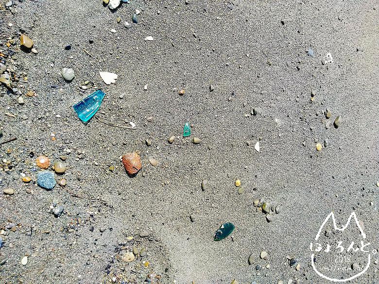 「北条海岸」砂浜アップ