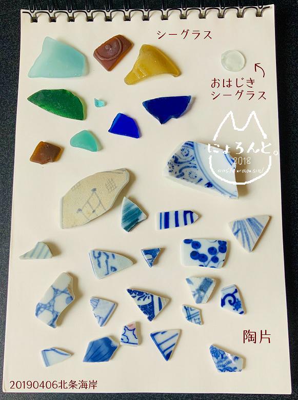 「北条海岸」で拾った石で思い出の『私が拾った石図鑑』