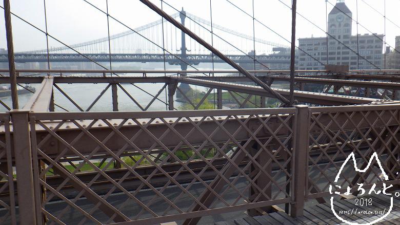 ブルックリンブリッジからの眺め