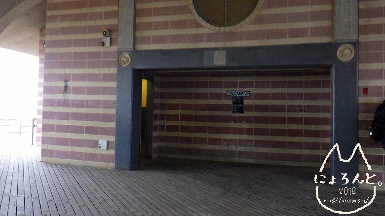 コニーアイランドビーチ・ゲートトイレ