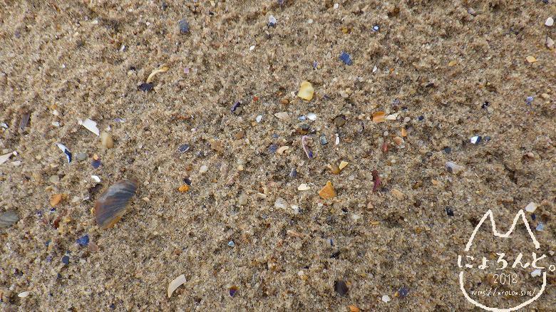 コニーアイランドビーチ・砂浜アップ