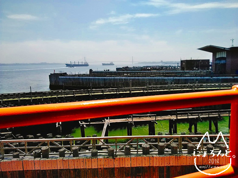 スタテンアイランドフェリー/スタテンアイランド側桟橋