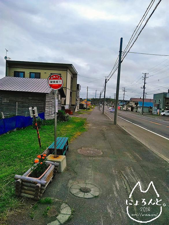 北海道・望来海岸でビーチコーミング/望来坂下