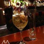 札幌のcafe bar Bank/ラムレーズンパフェ