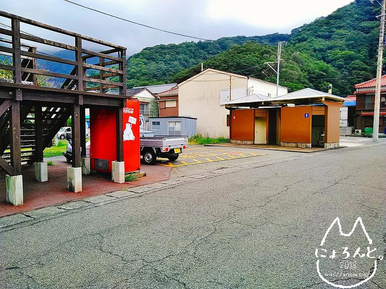 大田子海岸でビーチコーミング/トイレ