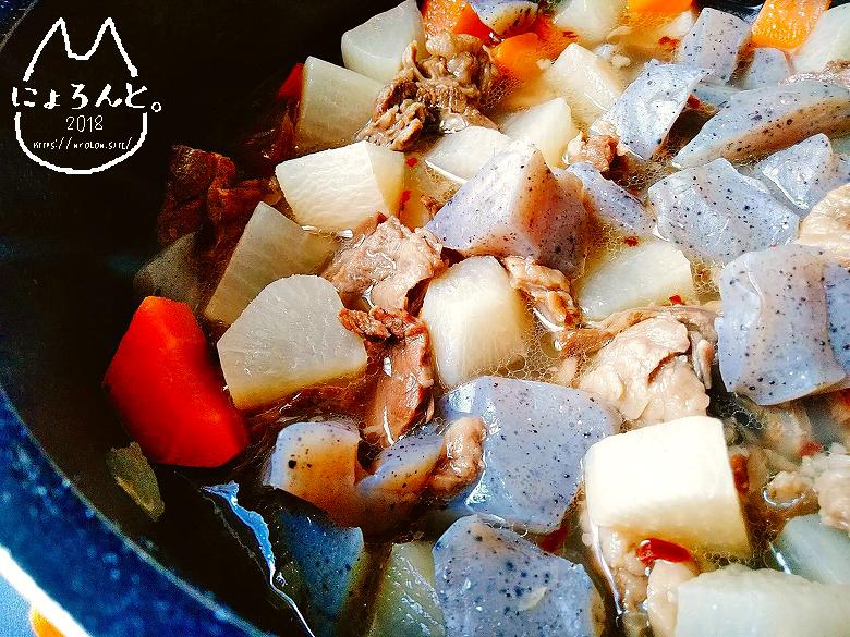 さっぱり上品ホロホロとろっとおいしい牛すじの白だし煮込みレシピ