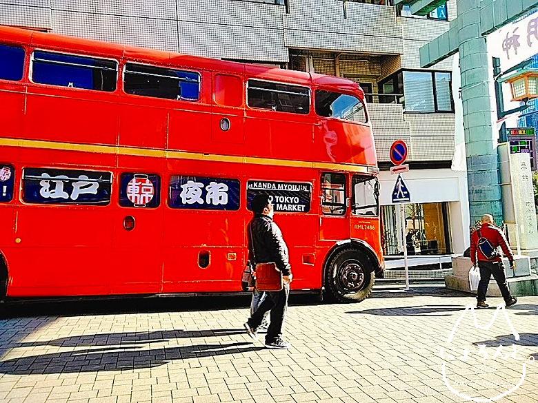 2020年神田明神・二階建てバス