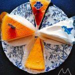 コージーコーナーのチーズケーキ食べ比べ