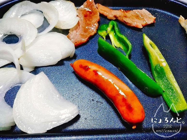 ニトリのたこ焼き&ミニホットプレート・焼肉