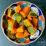 優しいだし味のかぼちゃの煮物レシピ