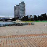 お台場でビーチコーミング/お台場海浜公園