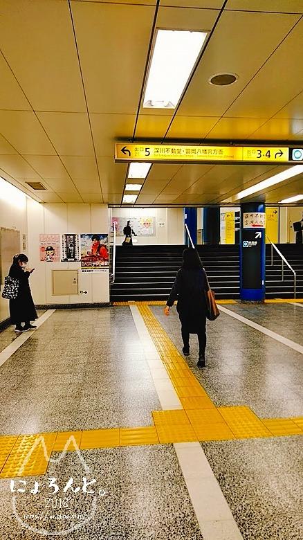 富岡八幡宮骨董市/地下鉄構内