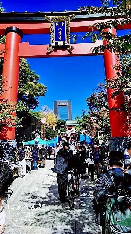 富岡八幡宮骨董市/正面参道