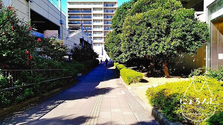 検見川浜でビーチコーミング/道順