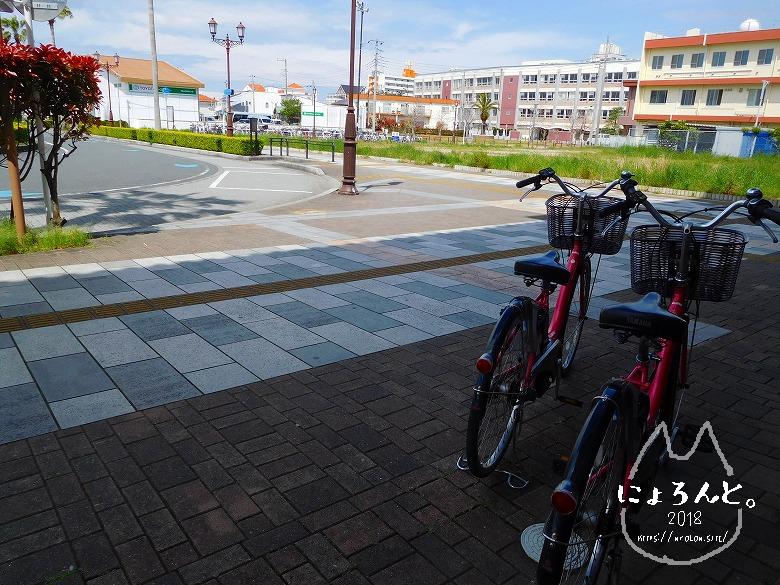 館山・坂田海岸でビーチコーミング/レンタサイクル