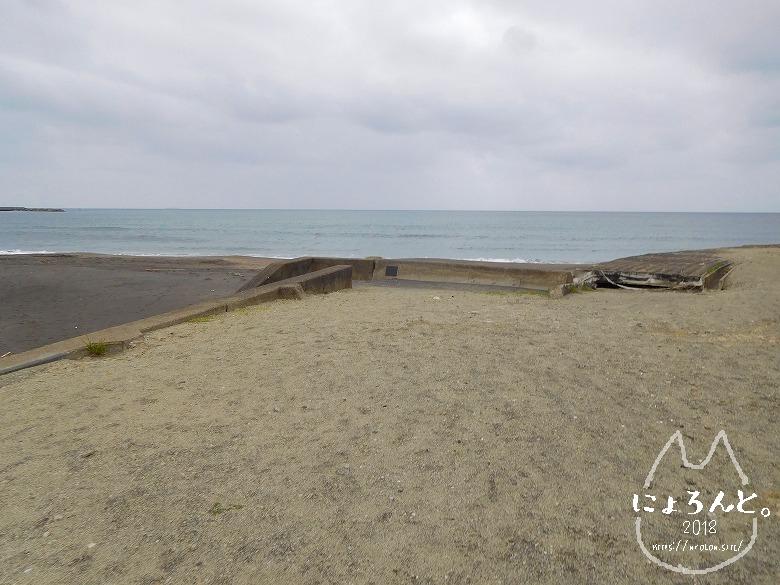 館山・平佐浦海岸でビーチコーミング/道順