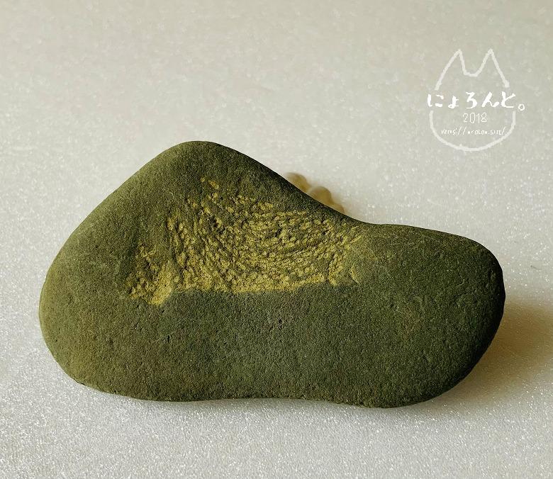 館山・平佐浦海岸でビーチコーミング/富士山模様の石