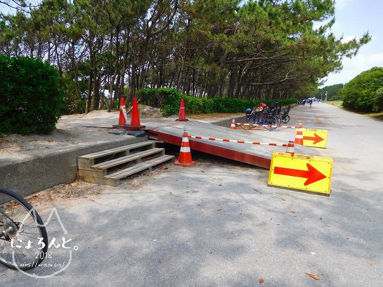 稲毛浜でビーチコーミング/道順