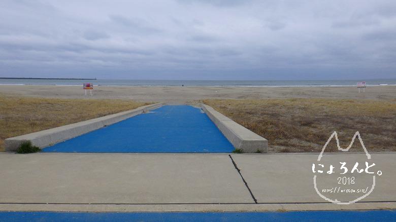 大洗海岸・サンビーチでビーチコーミング/道順