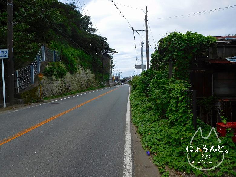 富津・竹岡(萩生/薬師堂近く)でビーチコーミング/道順