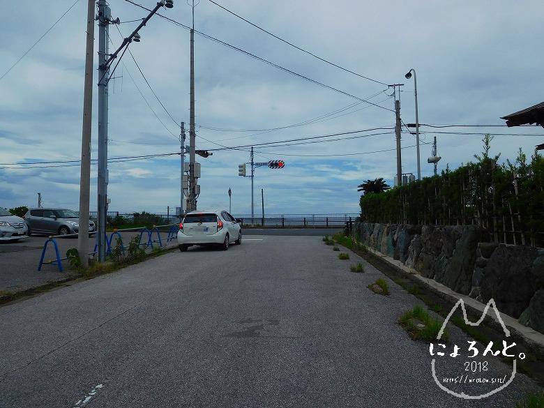 富津・竹岡萩生港南でビーチコーミング/道順