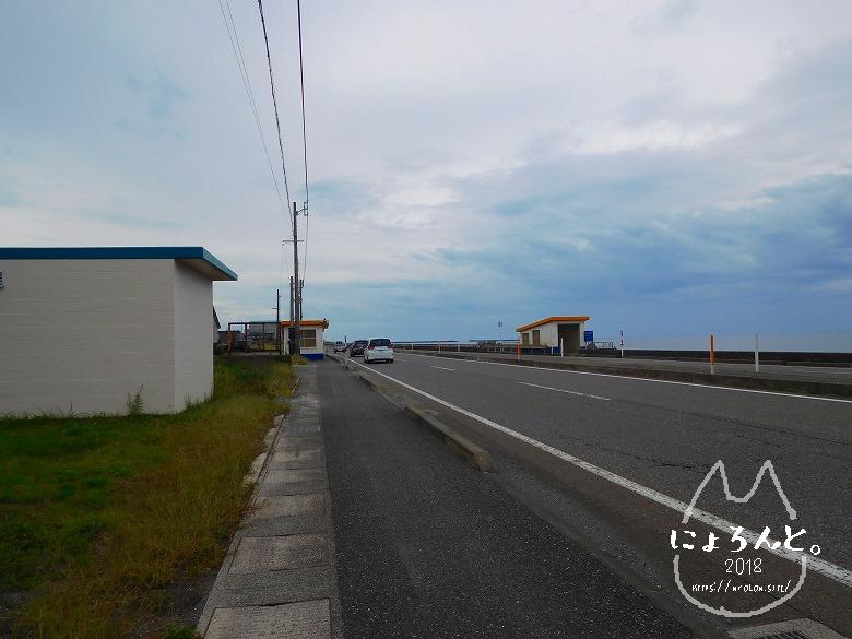 ヒスイ海岸(糸魚川海岸)でビーチコーミング/トンネル入り口